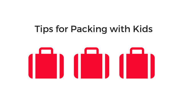 Tips for Packing with Kids