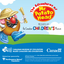 Visit Mr. Potato Head in Ottawa!