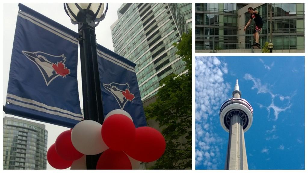 Toronto via rail visit