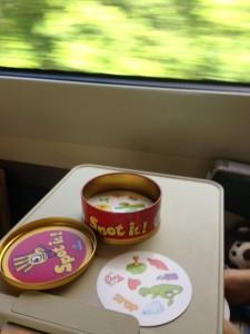 spot it on the train