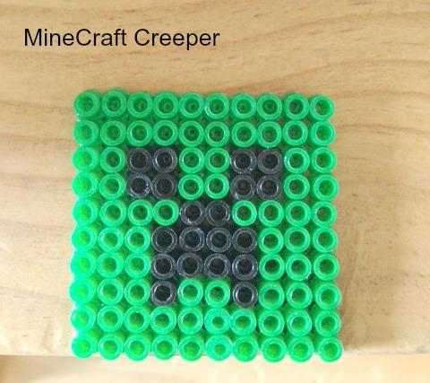 perler beads minecraft