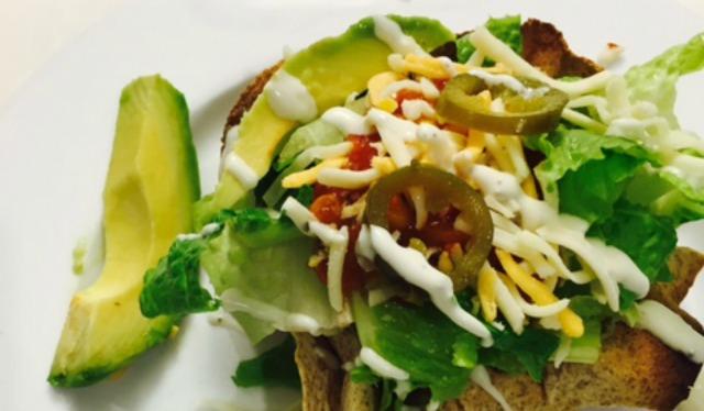 taco salad cover