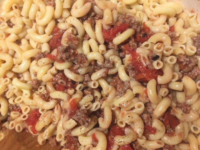 recipe macaroni hash