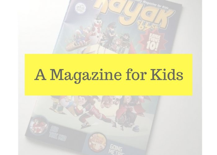 A Magazine for Kids
