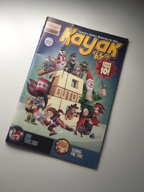 kayak magazine