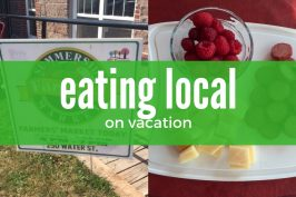 Family Travel: Eating local