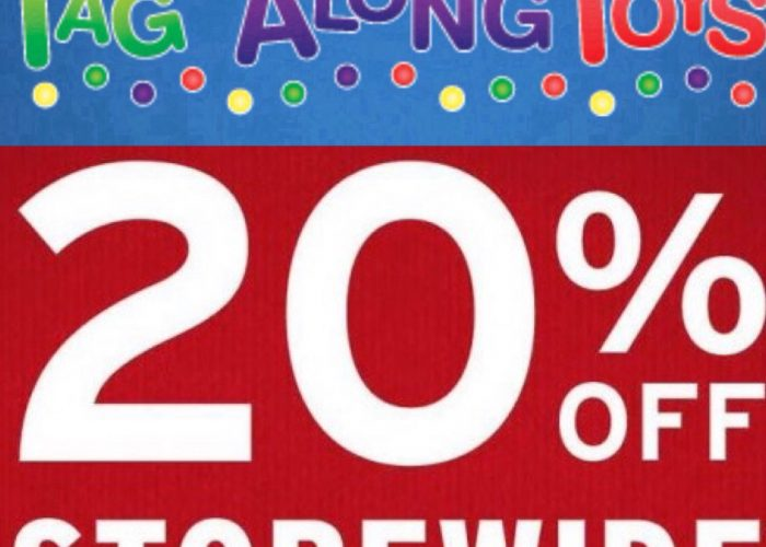 tag along toys sale