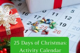 #25DayofChristmas Advent Activity Calendar