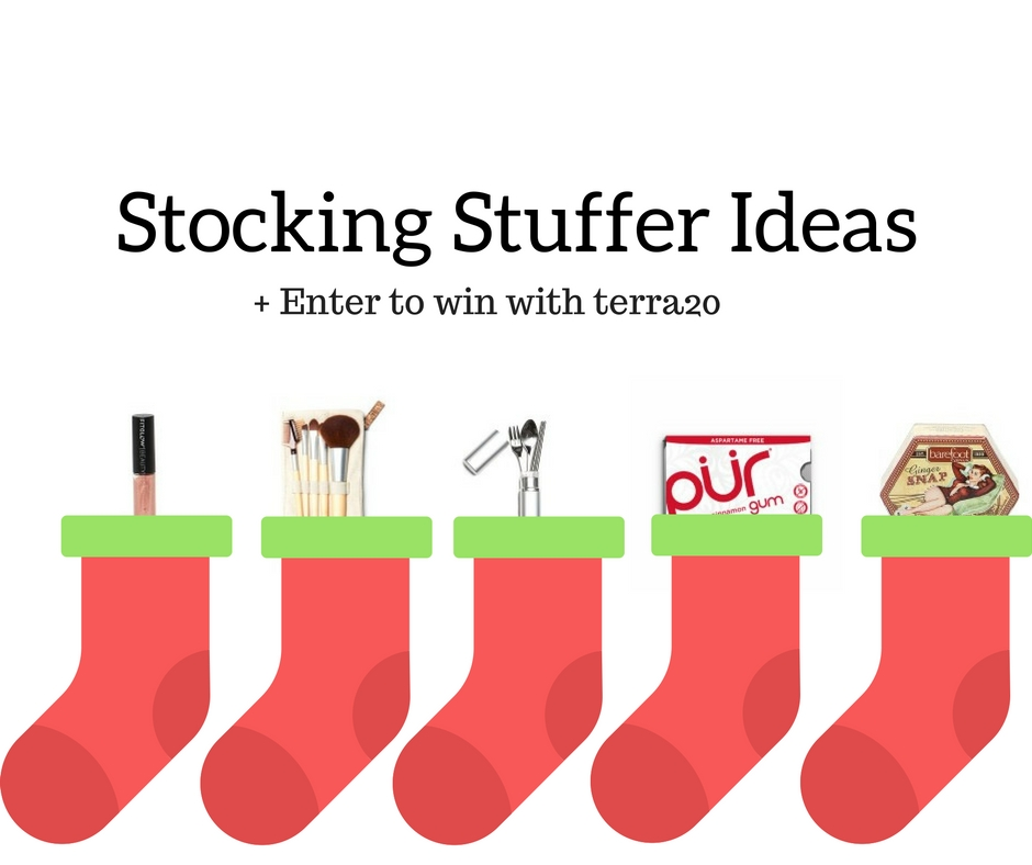 Stocking stuffers from terra20 and enter to win a 50 Stocking stuffer ideas 2016