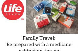 Family Travel: How to make a travelling medicine cabinet