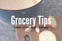 Cooking and Money saving tips for the New Year