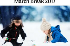 March Break in Ottawa 2017