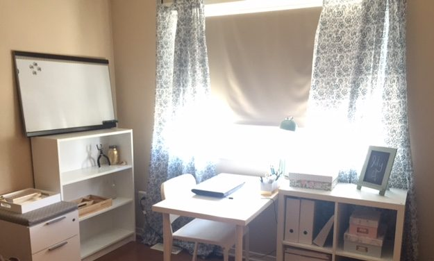 creating office space. Last Summer, It Was Time For Me To Say Goodbye My Dining Room Table And Small Storage Area I Called An Office Create A More Proper, Workable Space. Creating Space