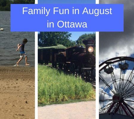 ottawa family activities in august
