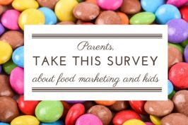 Parents: The City of Ottawa wants you to take this survey about kids and food marketing