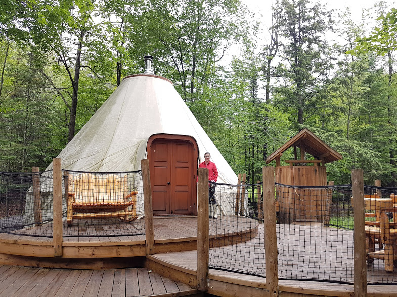 accommodations at parc omega