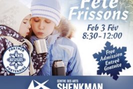 Around Ottawa: FREE Event – Fête Frissons at Shenkman Arts Centre
