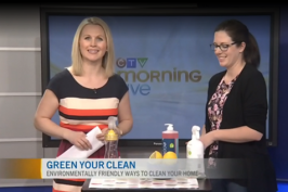How to Green your Spring Cleaning: CTV Ottawa Morning Segment