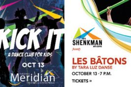 Two Dance Shows for Your Family this Weekend (and one is a dance party)