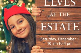 December 1 – Family Holiday Activities in Ottawa: Elves at the Estate