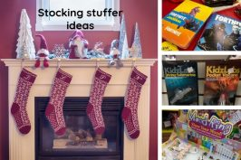 Create a WOW stocking stuffed with fun, unique and useful items